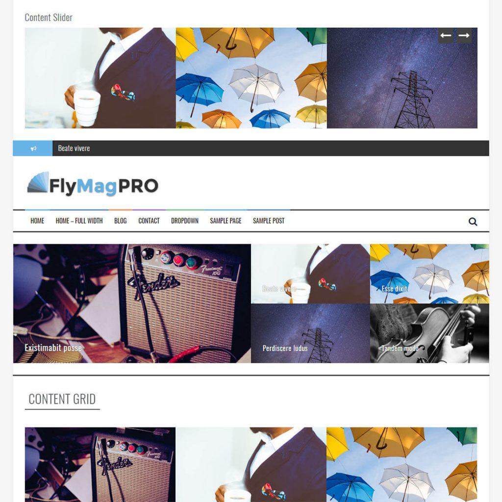FlyMag Pro -premium wordpress magazine theme