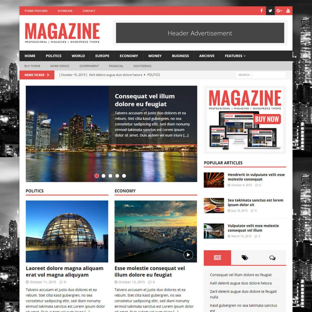 MH Magazine - magazine theme for wordpress