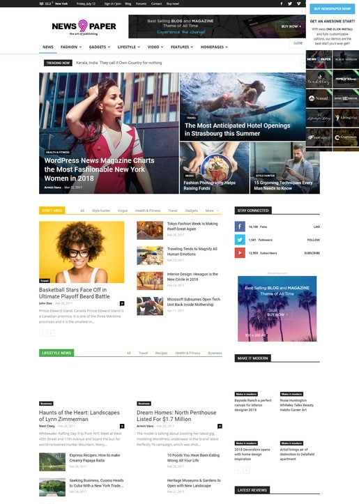 Newspaper-Magazine WordPress-Theme-2