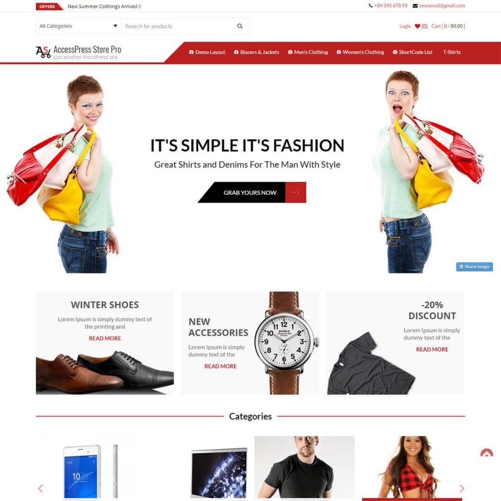 AccessPress Store - best woocommerce themes