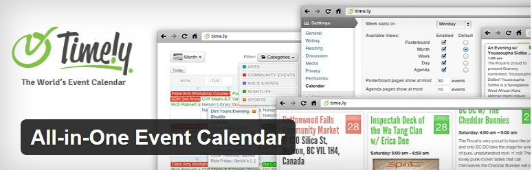 All in One Event Calendar — WordPress Plugins