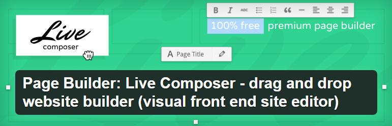 Live Composer plugin