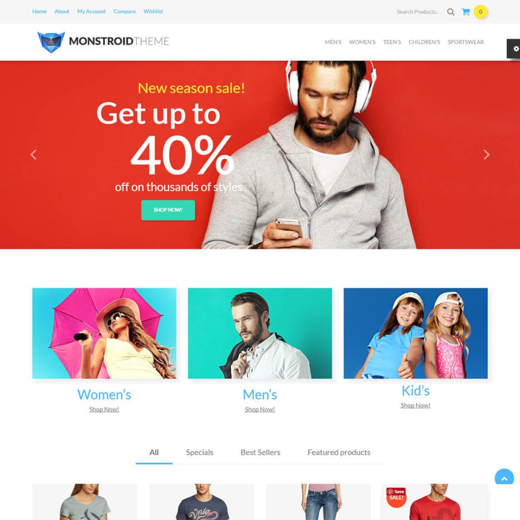 Monstroid multipurpose wordpress theme