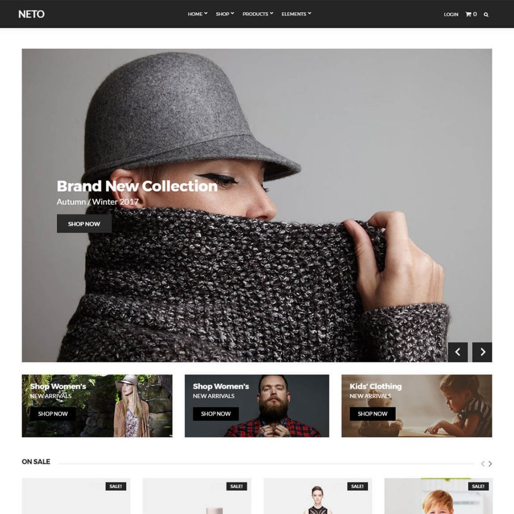 Neto – WooCommerce At Its Best wp theme