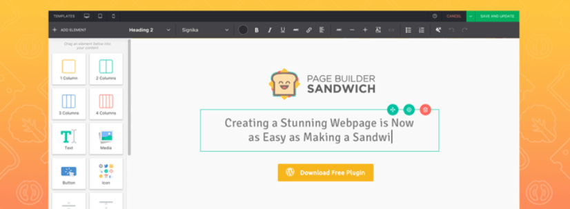 Page-Builder-Sandwich-Front-End-Page-Builder