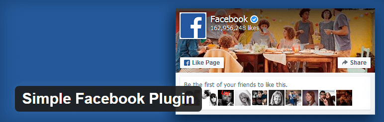 Simple Facebook Plugin wordpress widgets