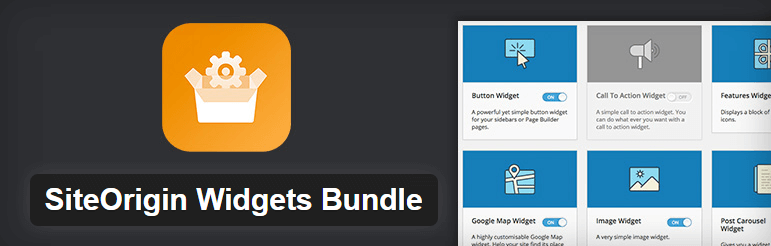 SiteOrigin Widgets Bundle — WordPress Plugins