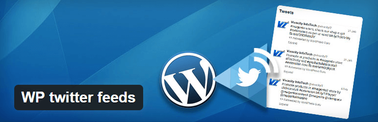 WP twitter feeds WordPress widgets
