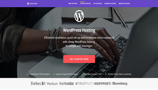 WordPress Hosting Fast Secure Crazily Ch