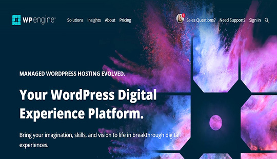 WordPress Hosting Perfected WP Engine®