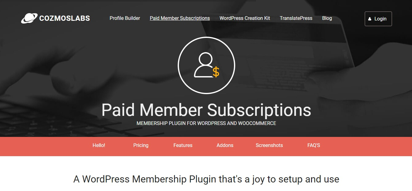 WordPress Membership Plugin - Paid Member Subscriptions