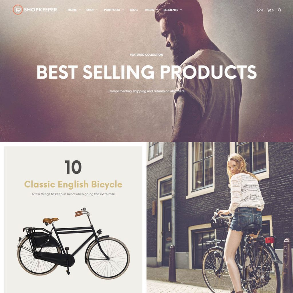 shopkeeper wordpress woocommerce theme