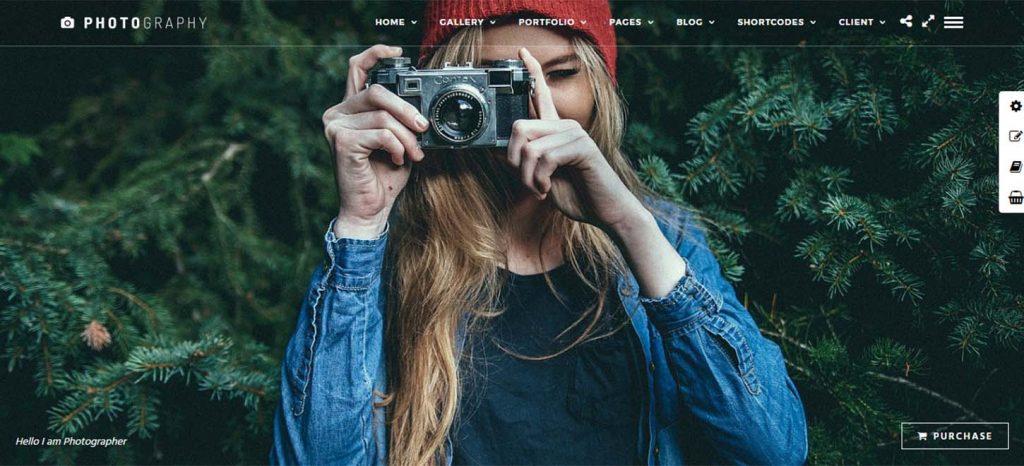 Photography I Responsive WordPress Photography Theme