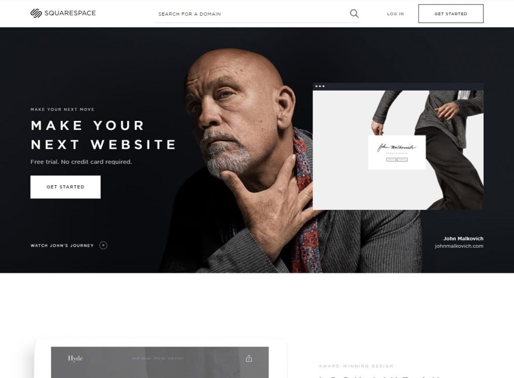 Squarespace - Build a Website