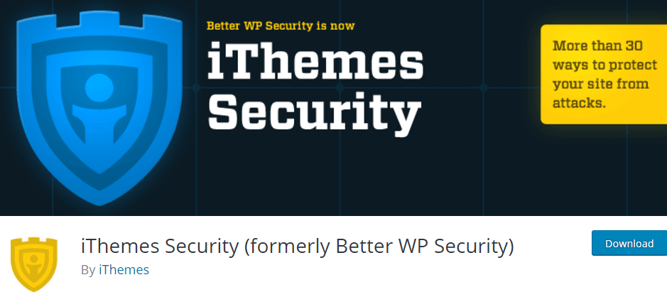 iThemes Security formerly Better WP Security WordPress Plugins