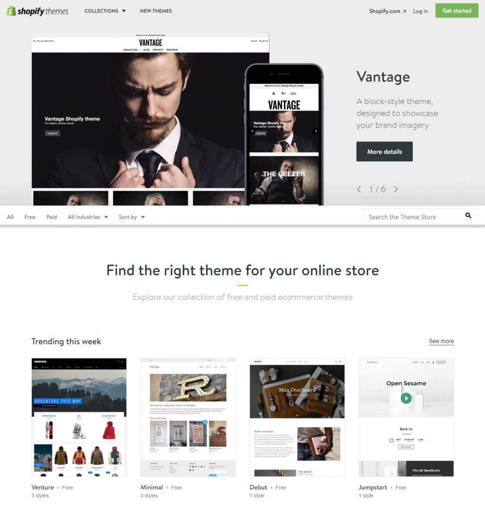 shopify-reponsive-themes