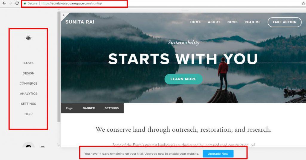 squarespace-website-trial-version