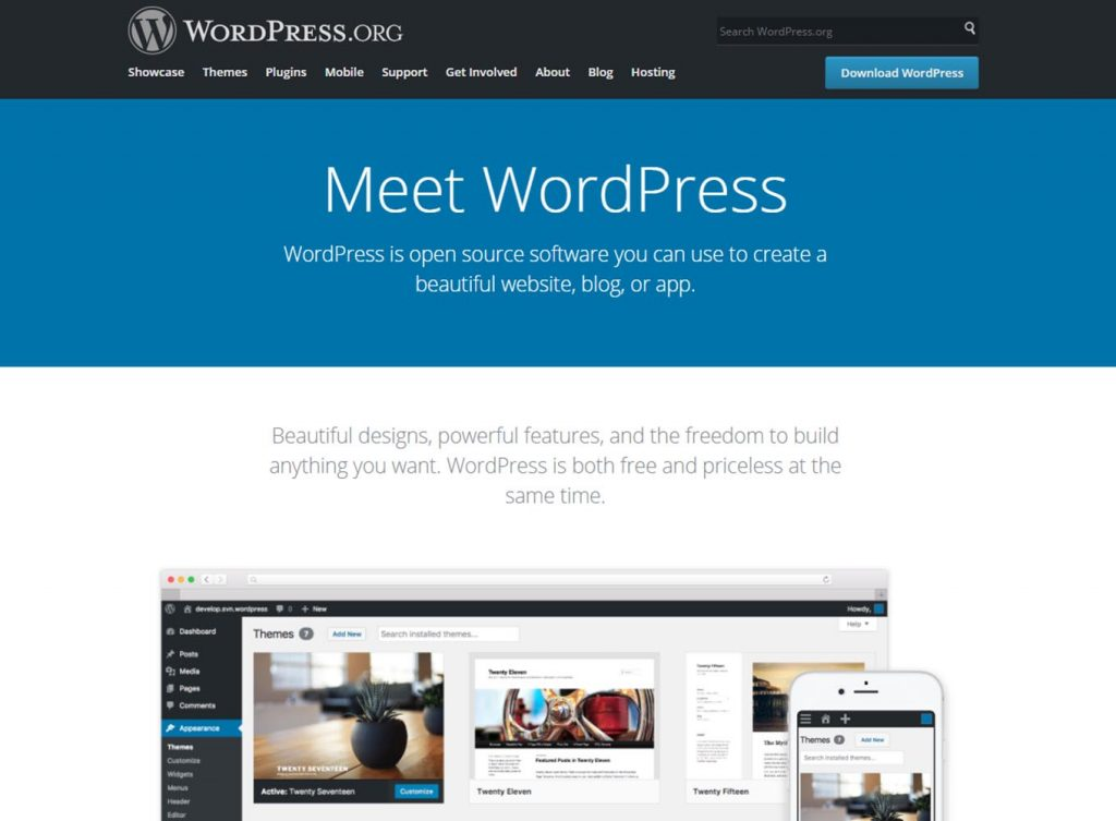 wordpress best cms platform