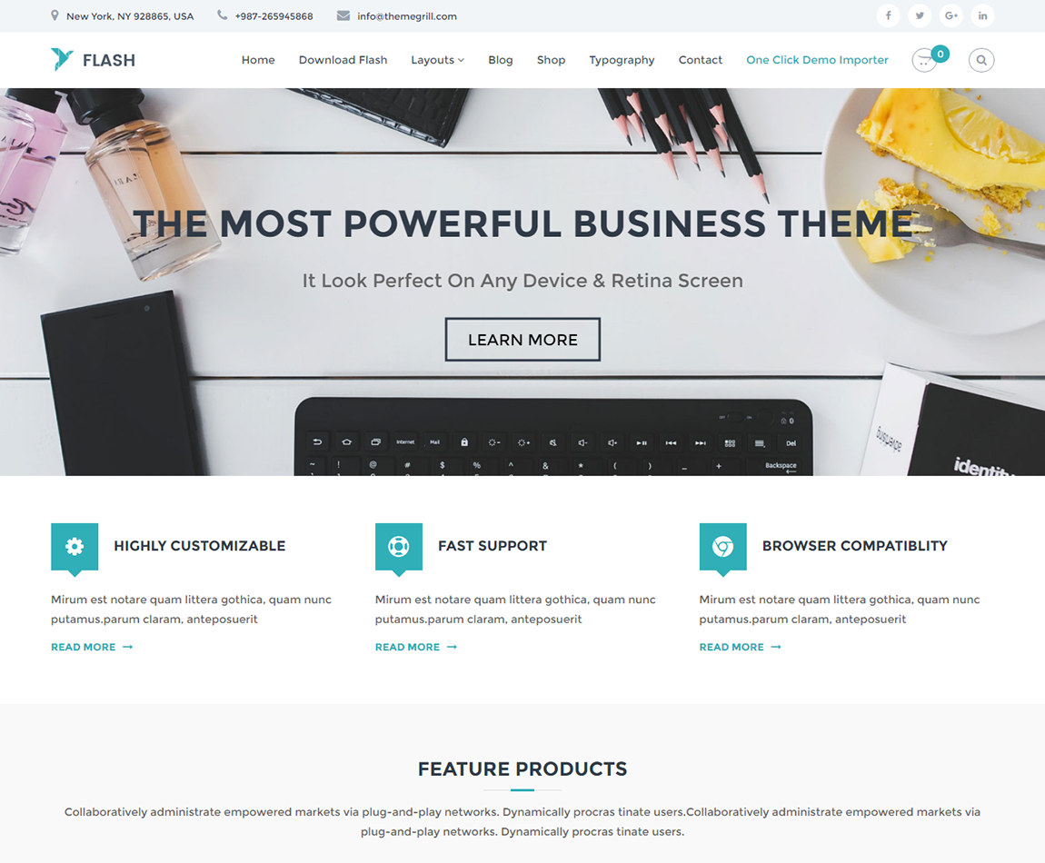 Flash- free-multipurpose-wordpress-theme