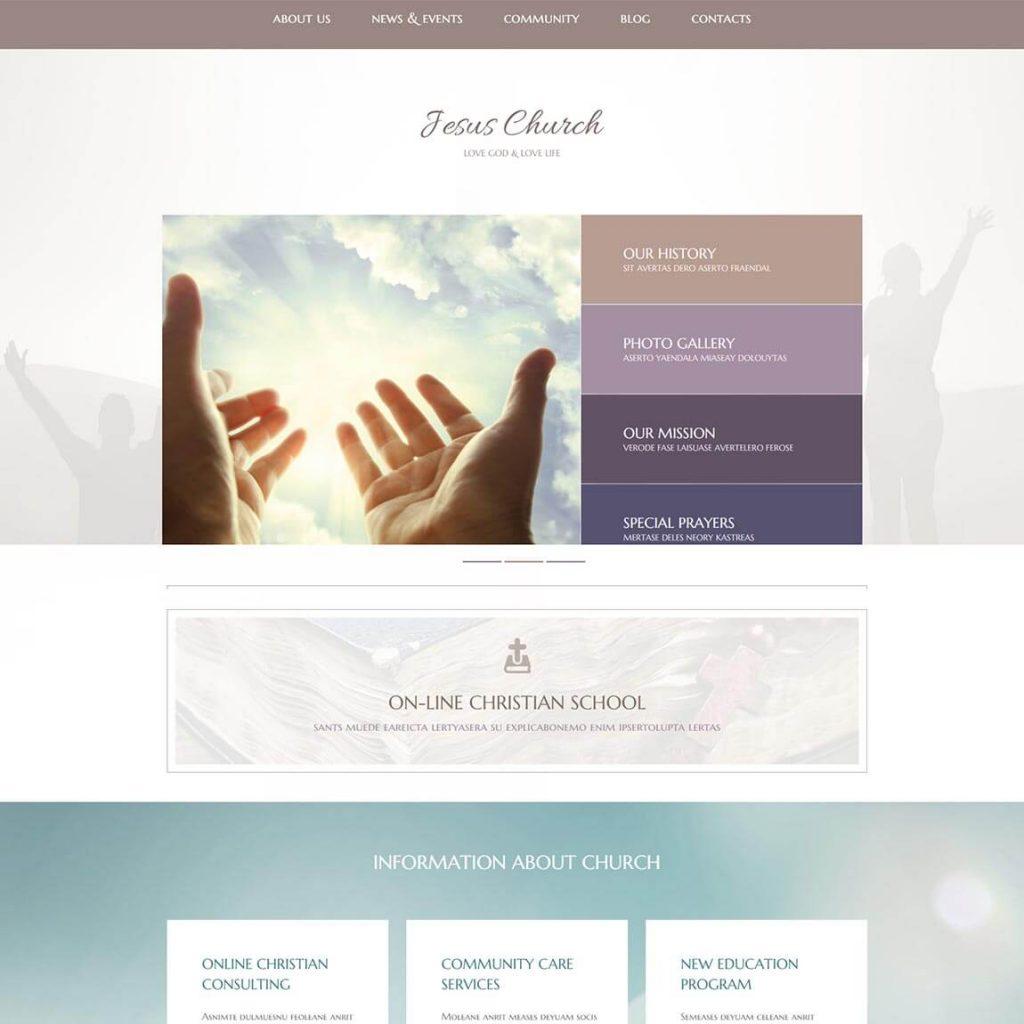 Jesus-Church-WordPress-theme-religious-theme