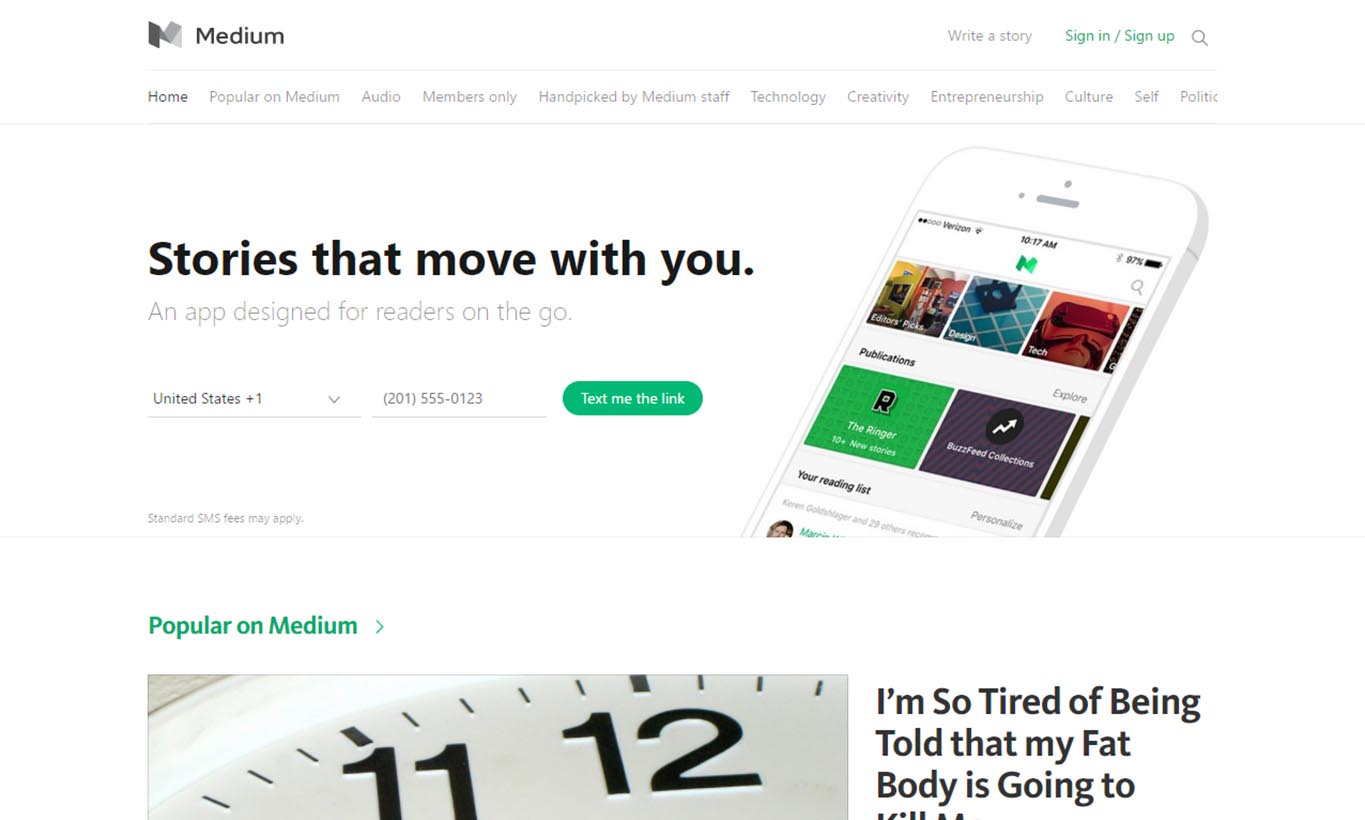 Medium-best-blogging-platform