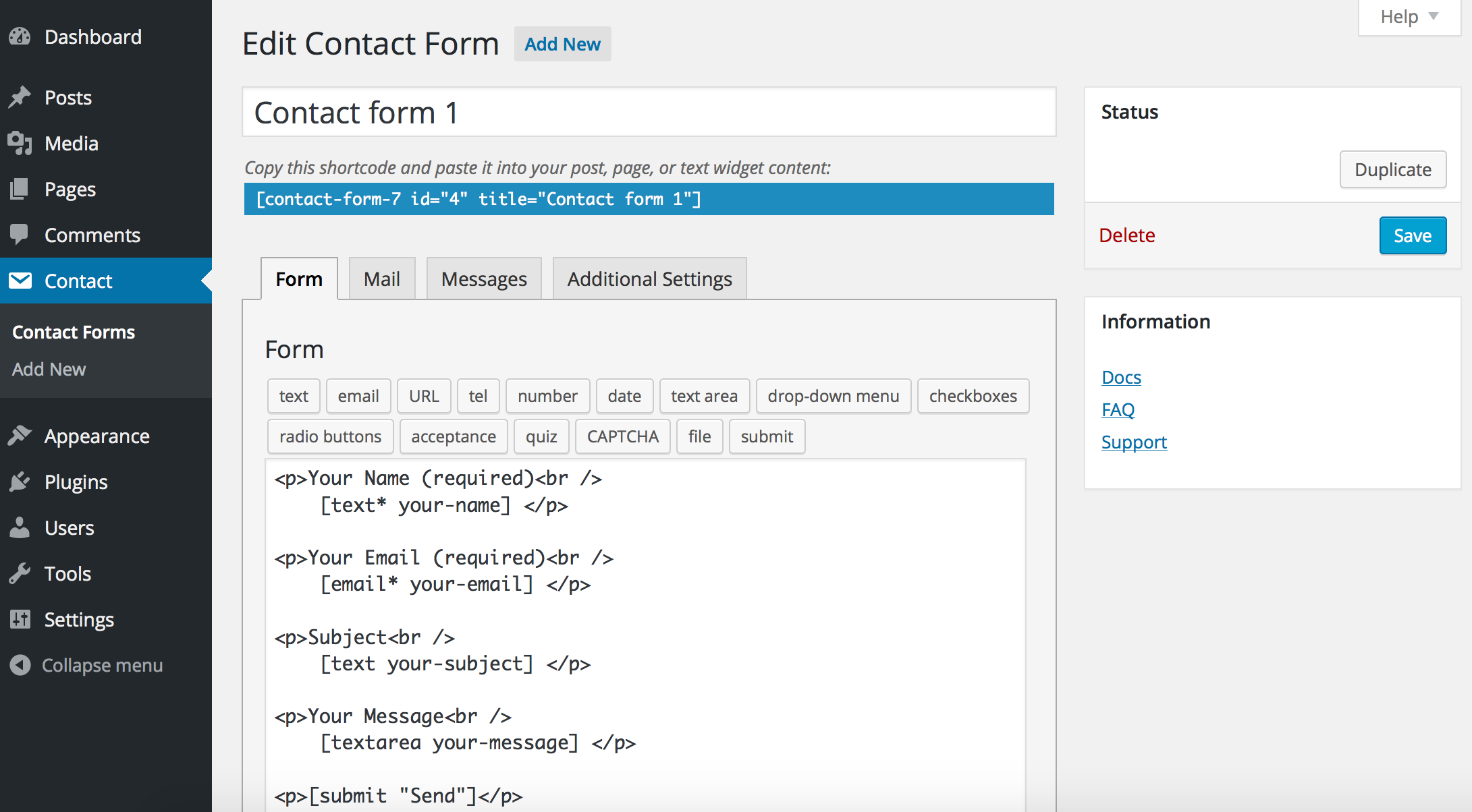 contact-form-7-wordpress-plugin