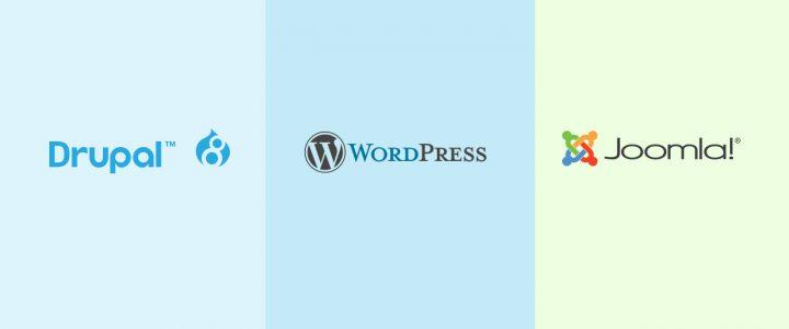 Drupal Vs WordPress Vs Joomla: Which is the best CMS Platform in 2019?