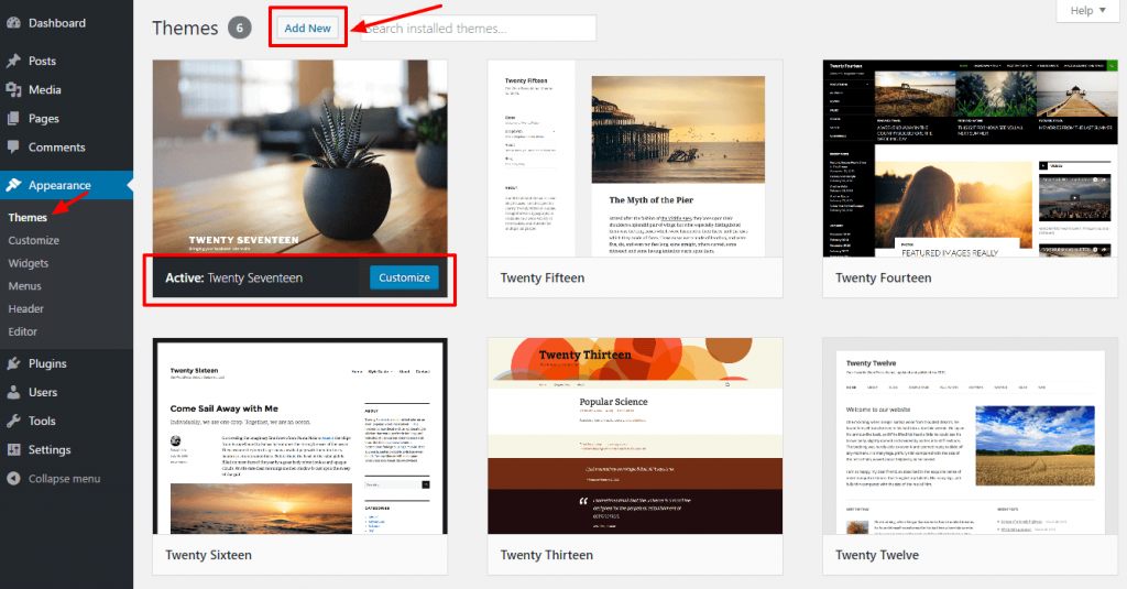 wordpress-default-themes