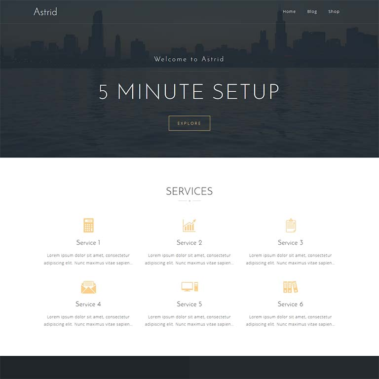 Astrid-simple-WordPress-themes