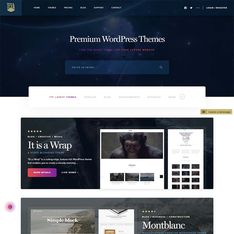 Beatrix-simple-wordpress-themes