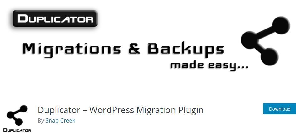 Duplicator-WordPress-Migration-and backup-Plugin