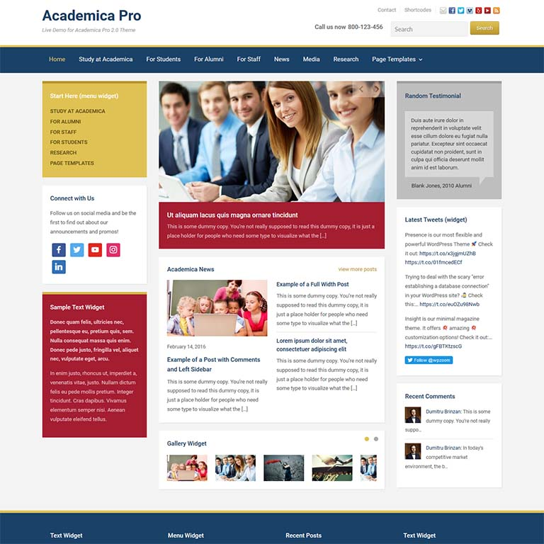academia-simple-wordpress-themes