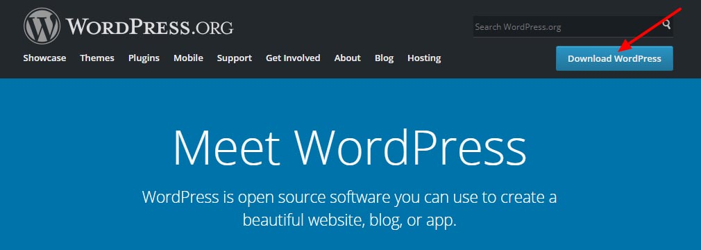 download-install-wordpress-software