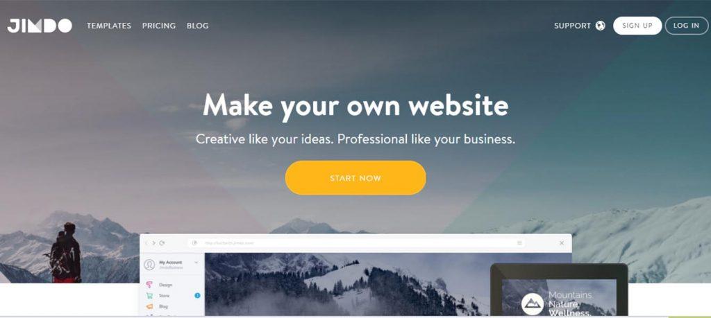 jimdo-best-website-builder
