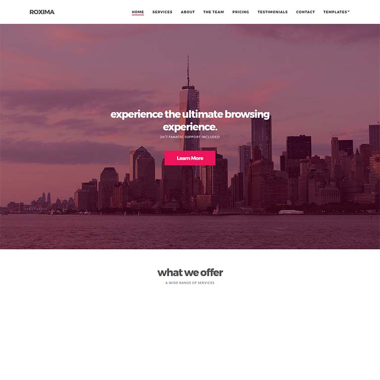 roxima-simple-wordpress-themes