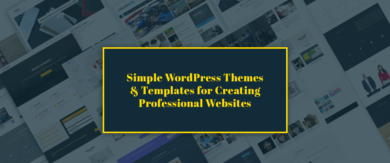 17+ Best Minimalist Simple WordPress Themes & Templates for 2019 – Create Professional Websites (Premium)