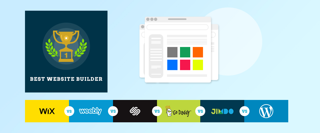 Wix Vs Weebly Vs Squarespace Vs GoDaddy Website Builder Vs Jimdo Vs