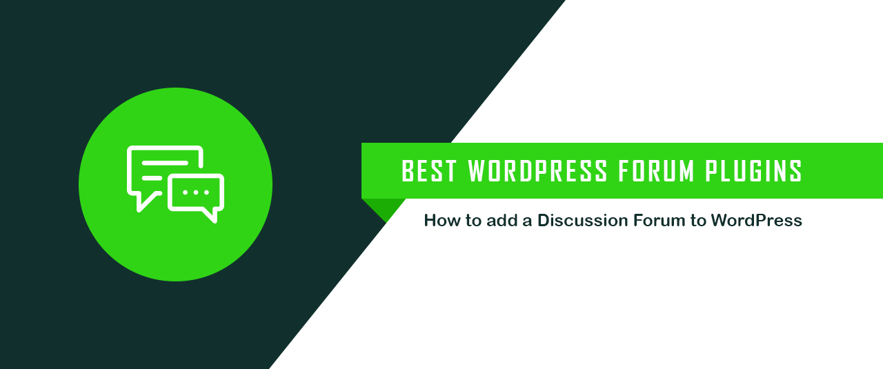 5 Best WordPress Forum Plugins 2017: How to Add a Forum to WordPress