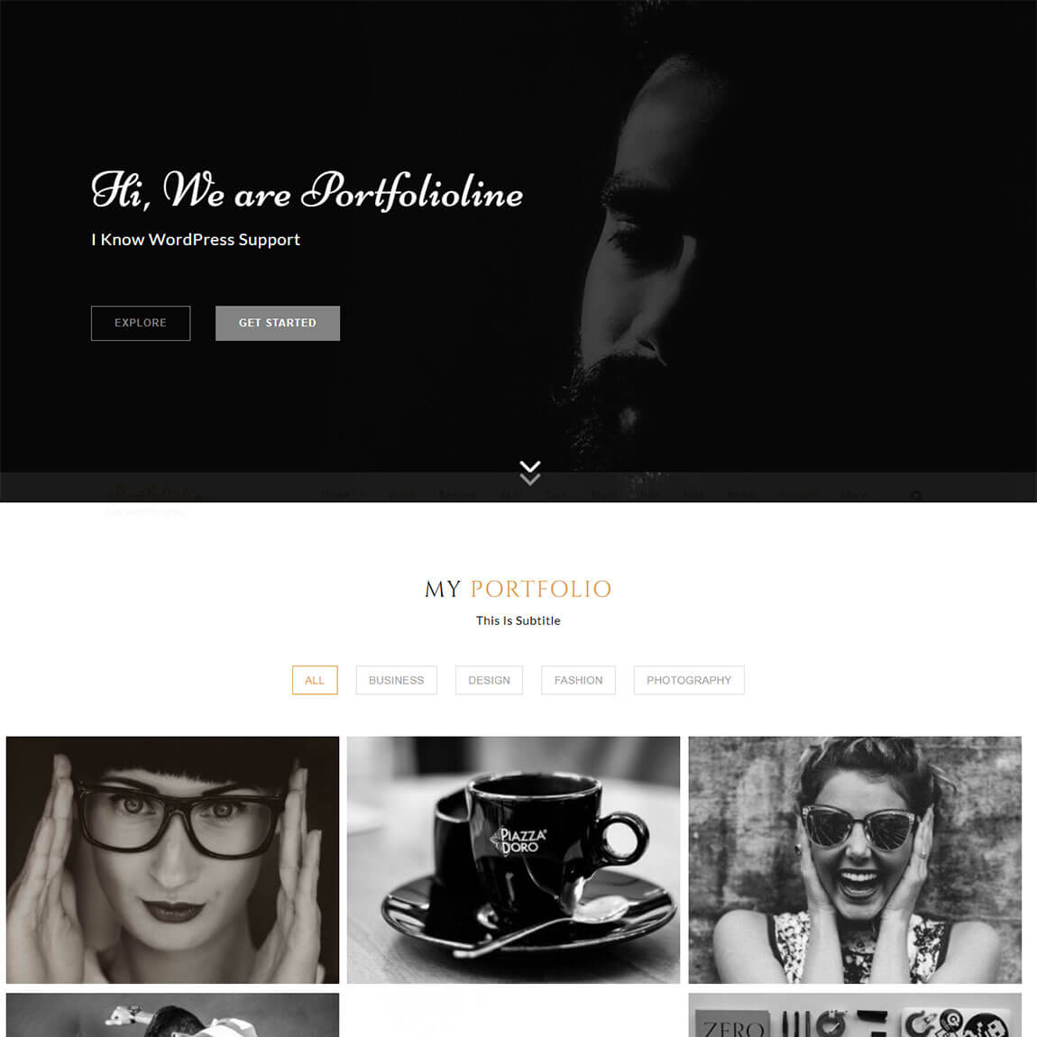 Portfolioline-wordpress-portfolio-theme