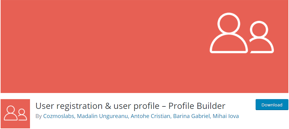 Profile-Builder-User-registration-user-profile-plugin
