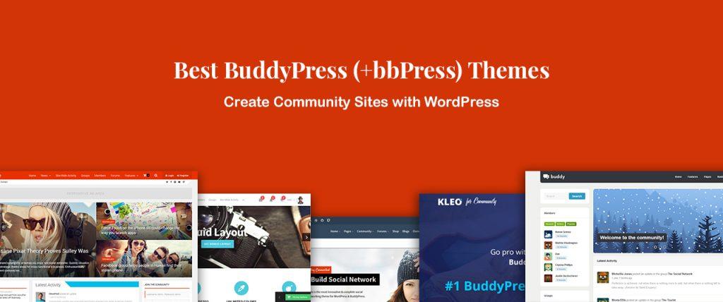 10 Best BuddyPress Themes for Community Sites (Plus bbPress)