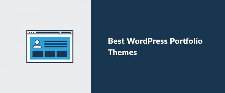 15+ Best WordPress Portfolio Themes and Templates 2020