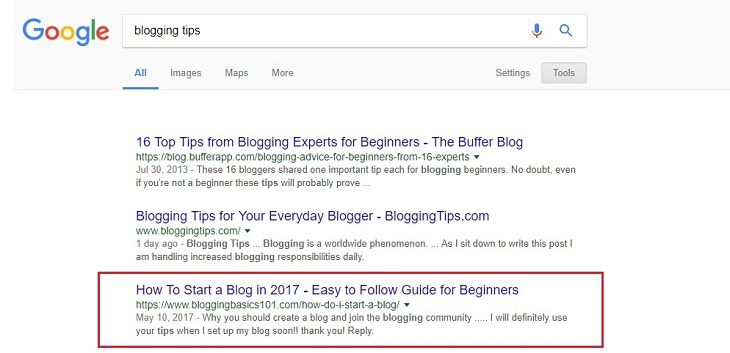 blogging-tips-serp-top-3