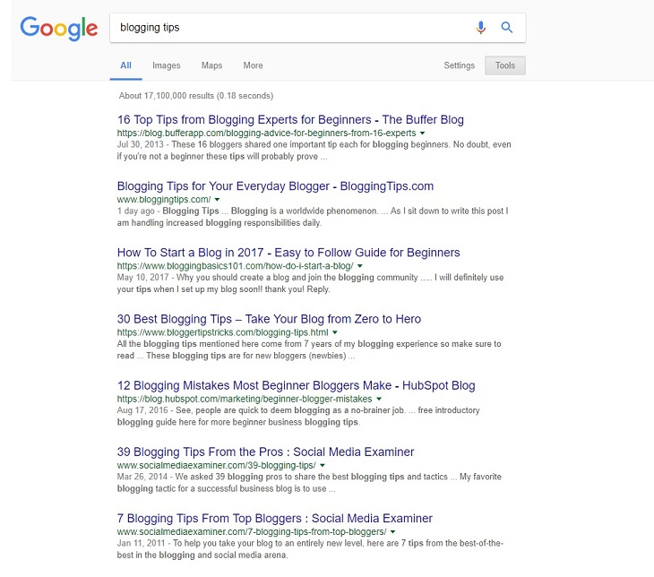 blogging-tips-serp