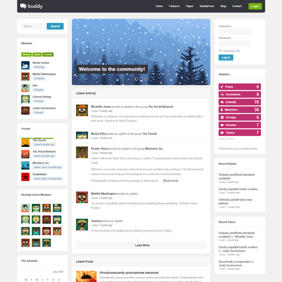 10 Best BuddyPress Themes for Community Sites (Plus bbPress)