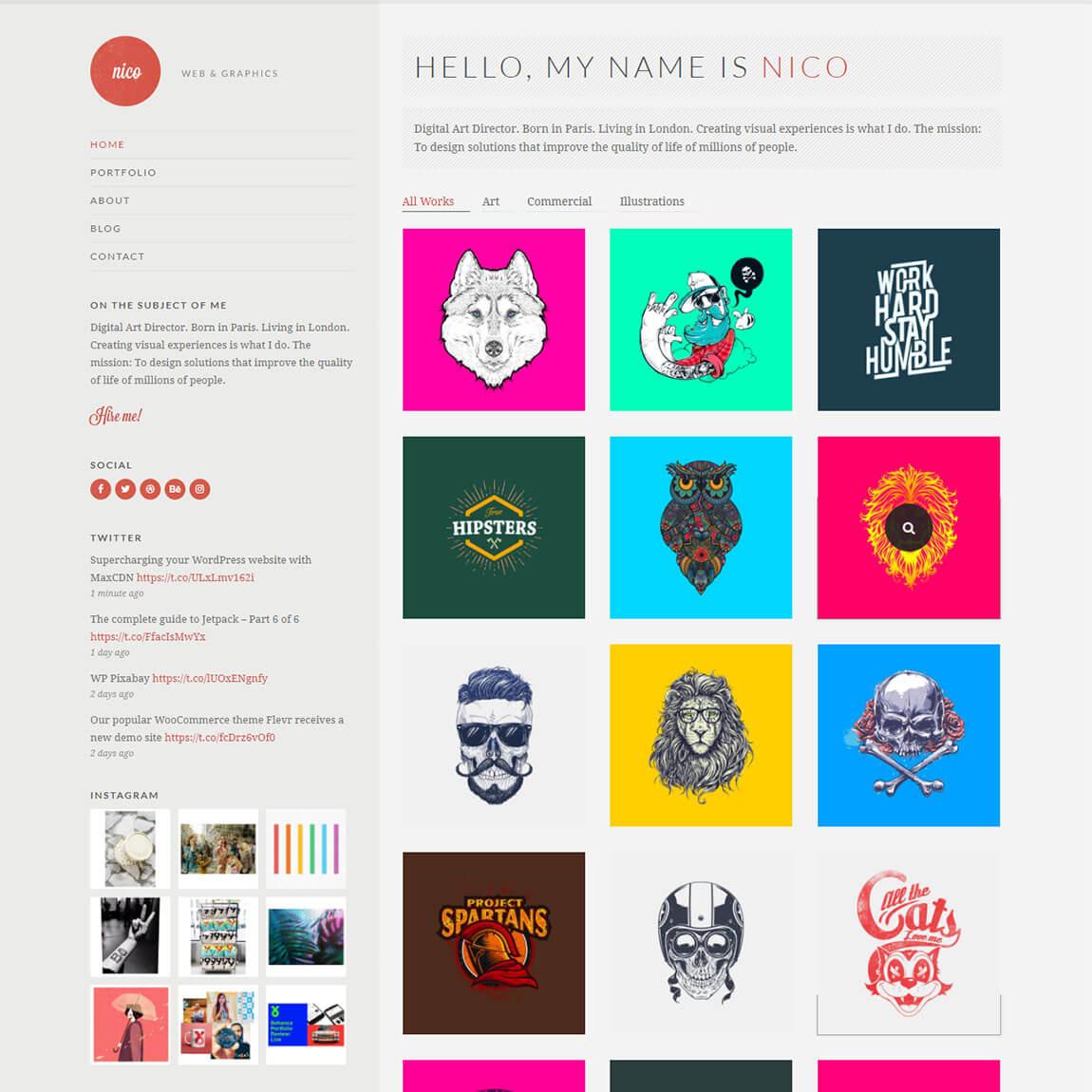 nico-responsive-wordpress-portfolio-theme