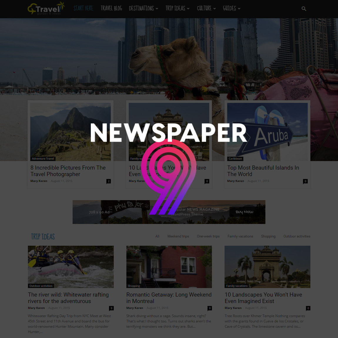 Newspaper 9 WordPress Theme - Blog