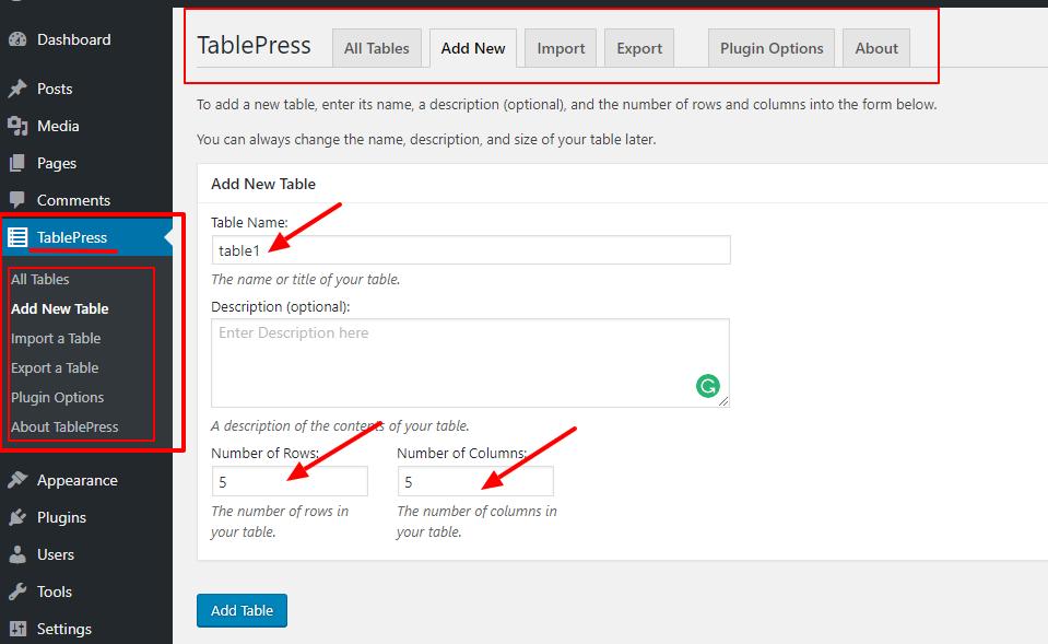 voeg-nieuwe-tabel-met-tablepress-wp-plugin toe