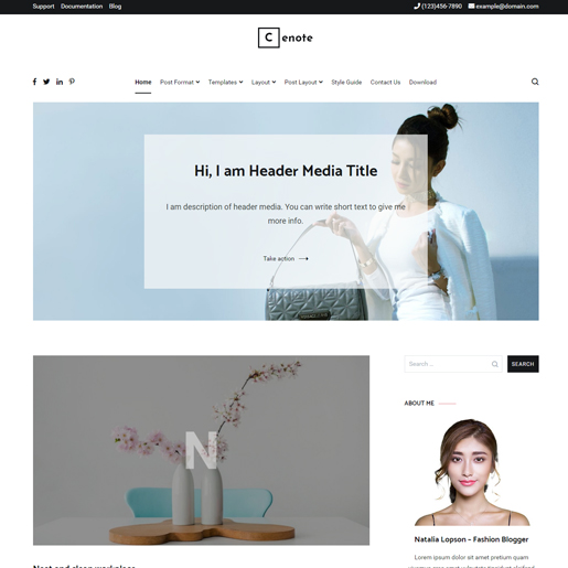 cenote-wordpress-blog-theme