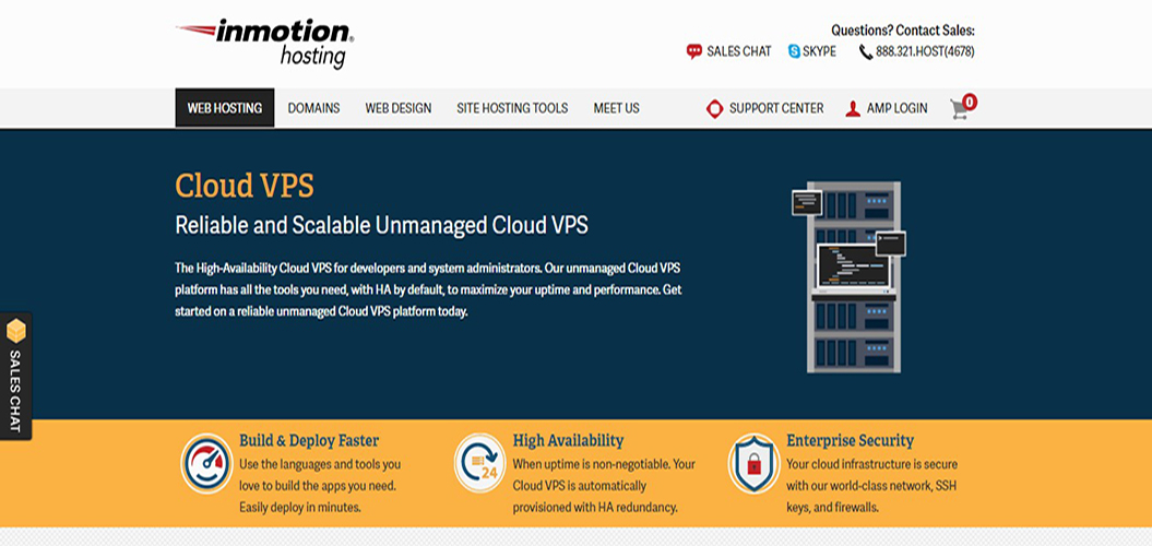 Cloud VPS InMotion Hosting